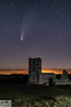 Neowise Comet over Knowlton Church