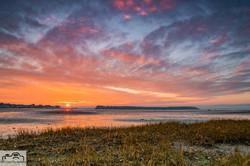 Winter Sunset - Sandbanks Poole