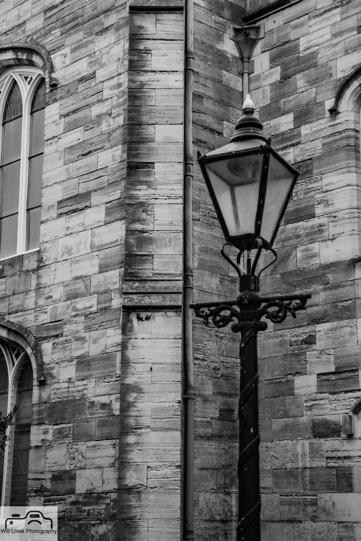 Old Town Street Lamp