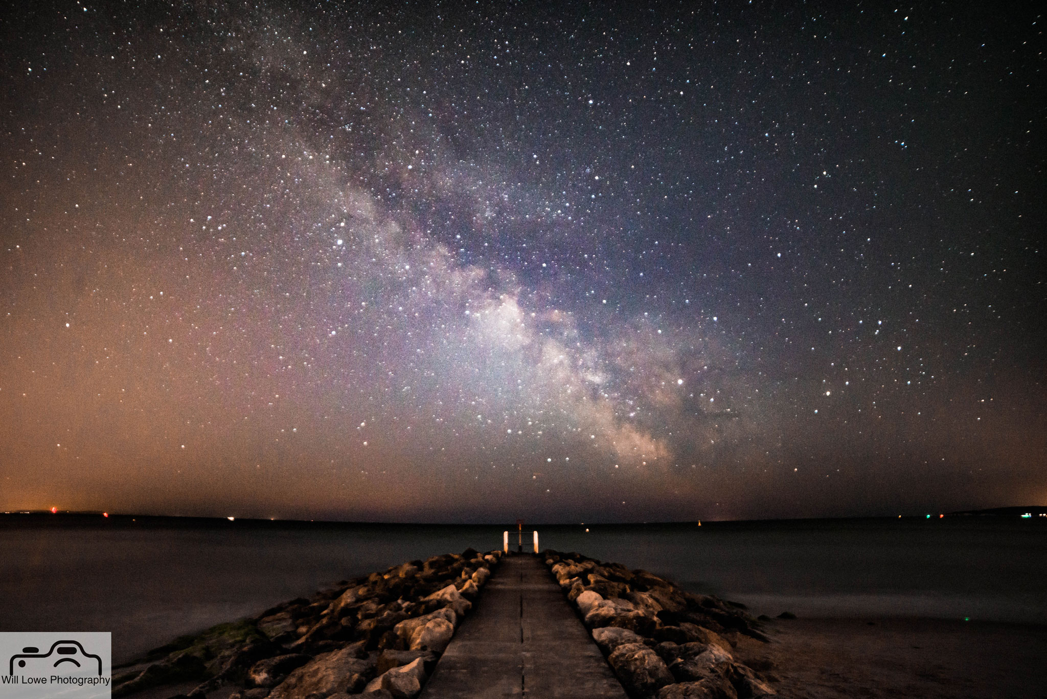 Milky Way over Branksome Beach