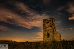 Moonlit Knowlton Church