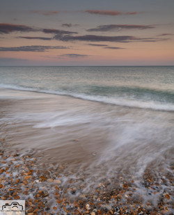Waves at Hengistbury Head