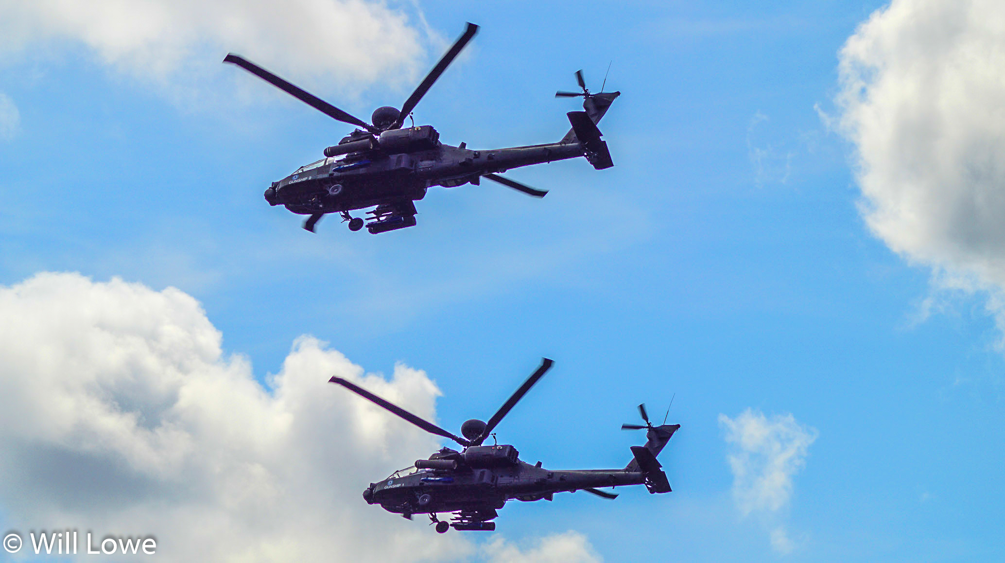 Apache Gunships RIAT  2015