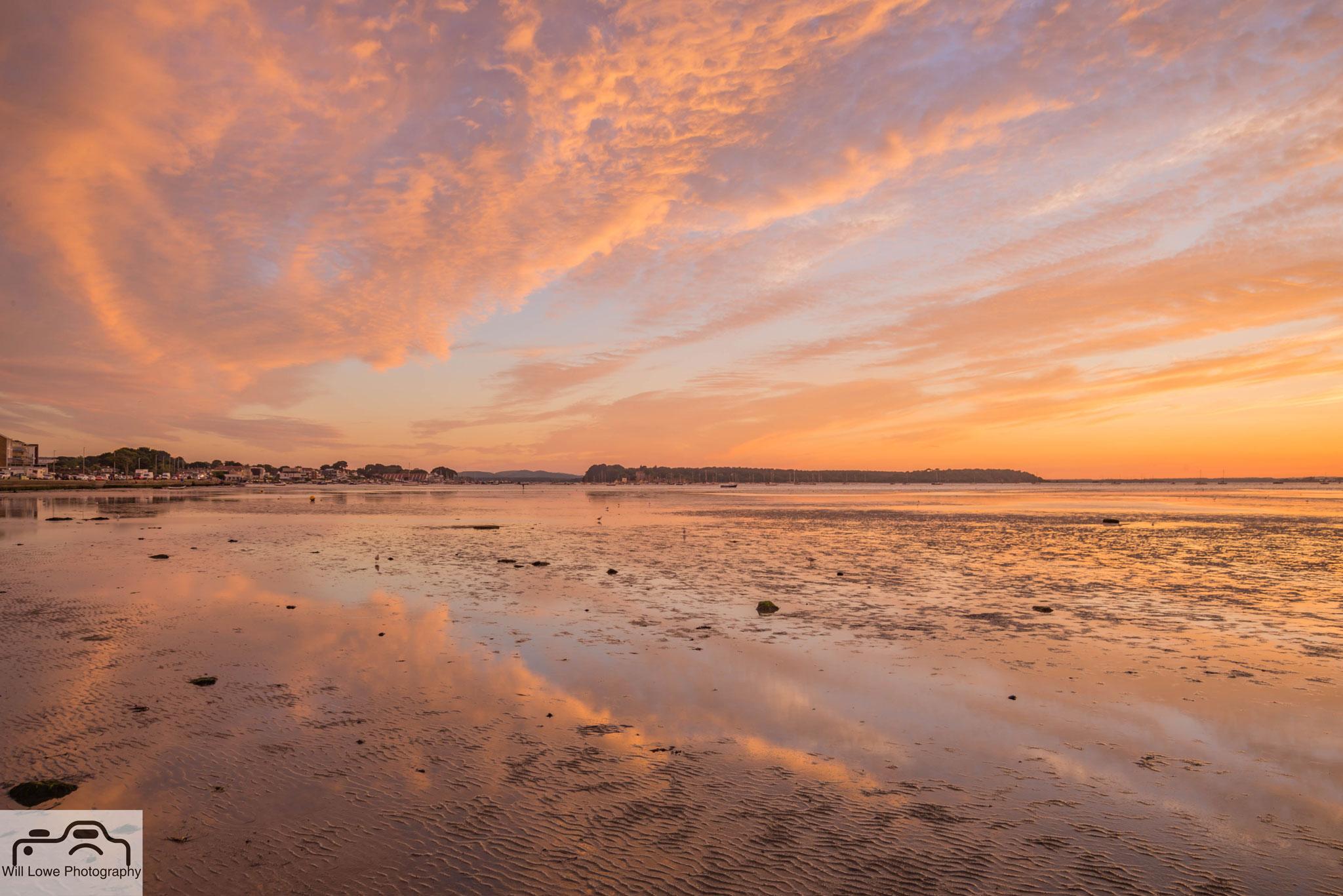 Reflections at Low Tide - Sandbanks