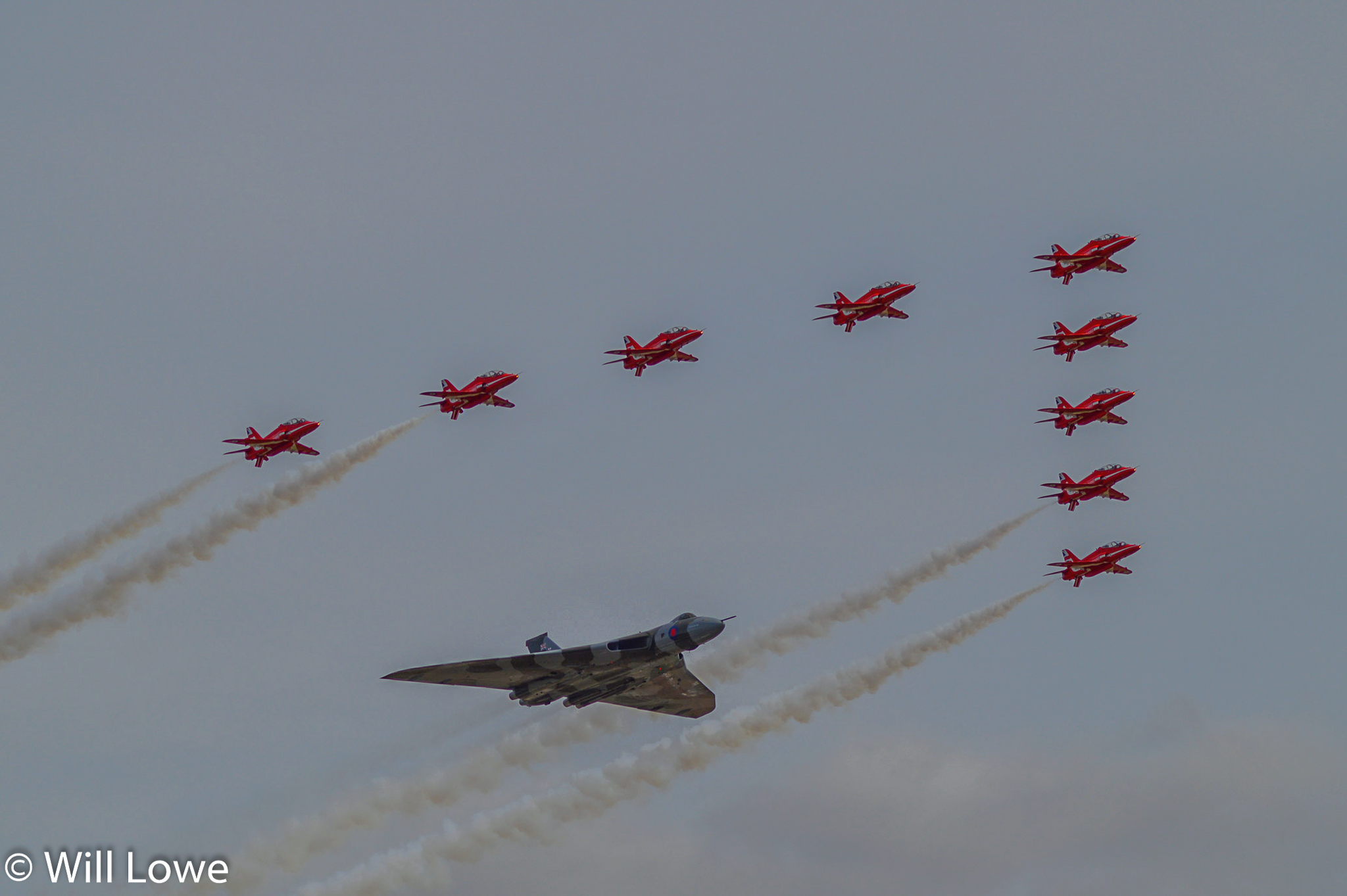 Red Arrows & Vulcan-RIAT 2015