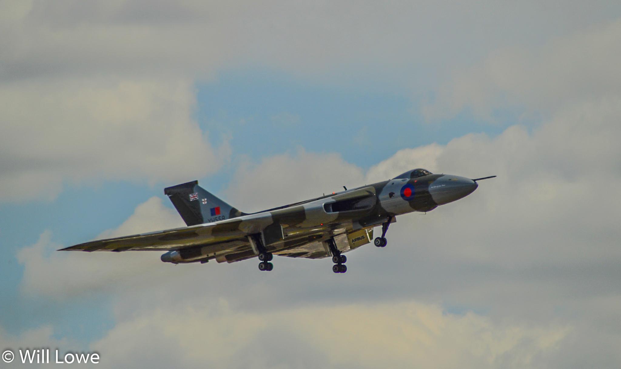 Vulcan Landing RIAT 2015