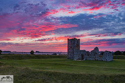 Red Sky at Knowlton Church