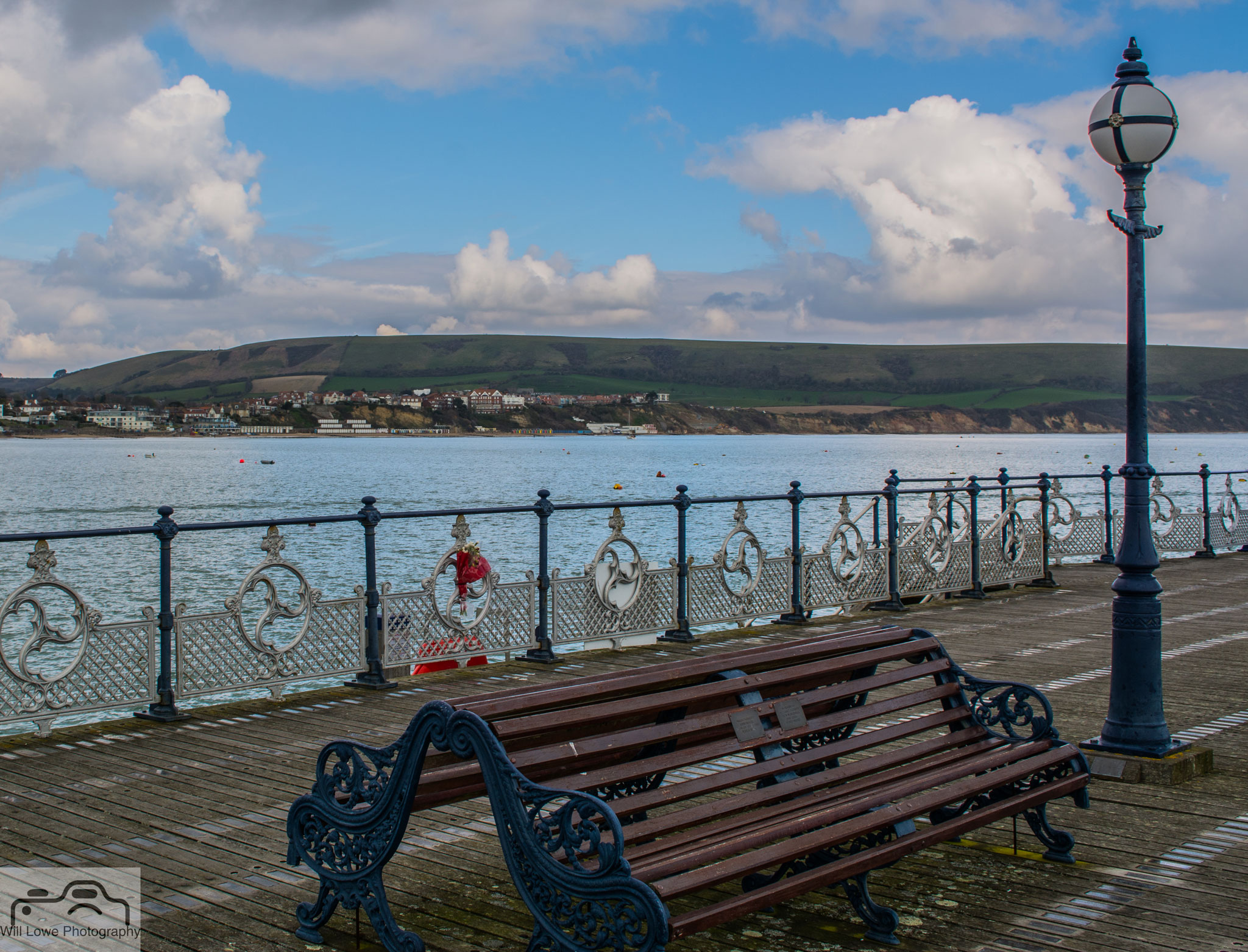 View from Swanage Pier