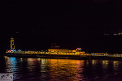Bournemouth Pier Lit Gold