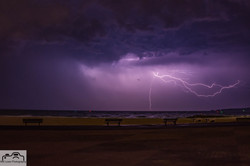 Lightning over Sandbanks