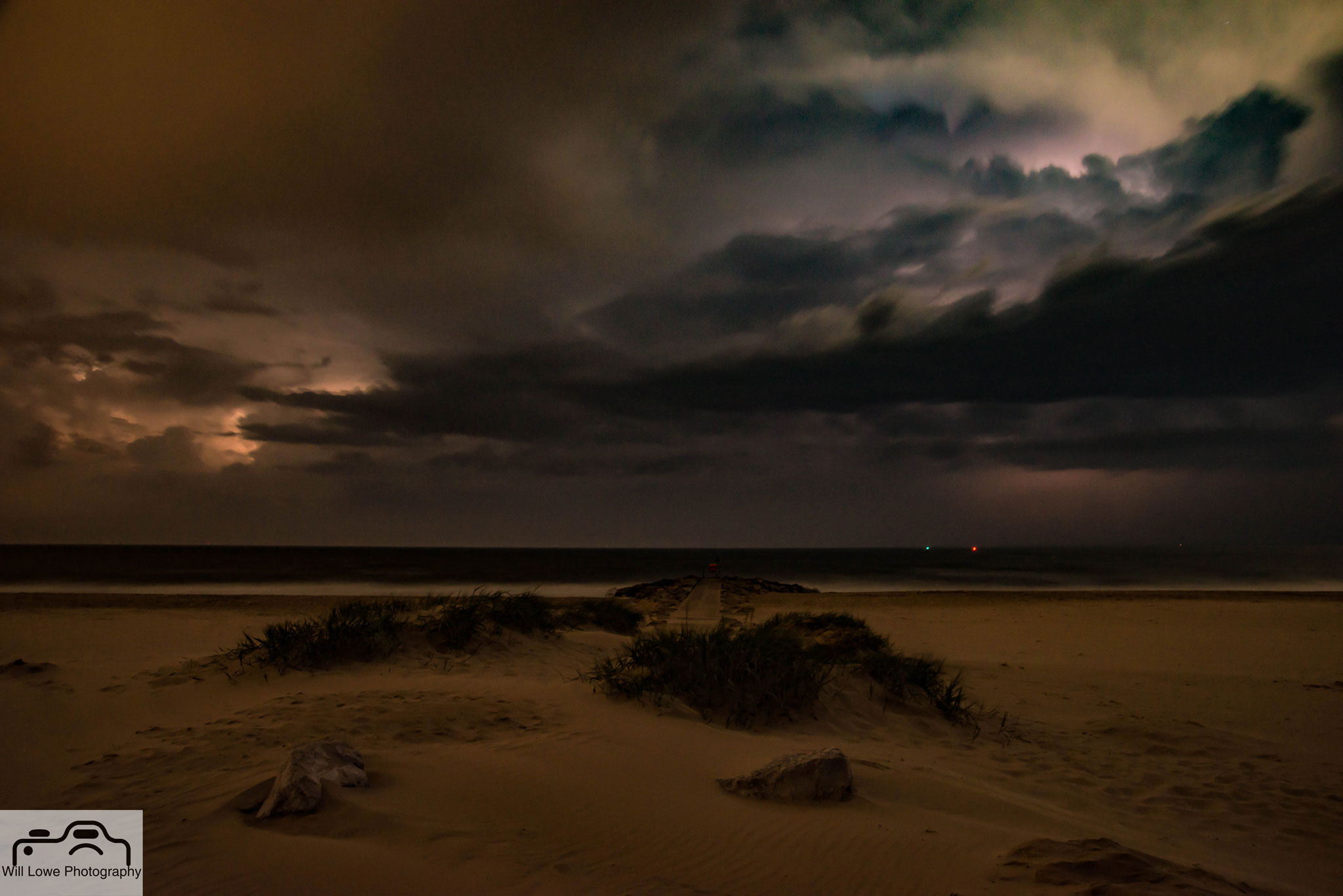 Storm Approaching Bournemouth Bay