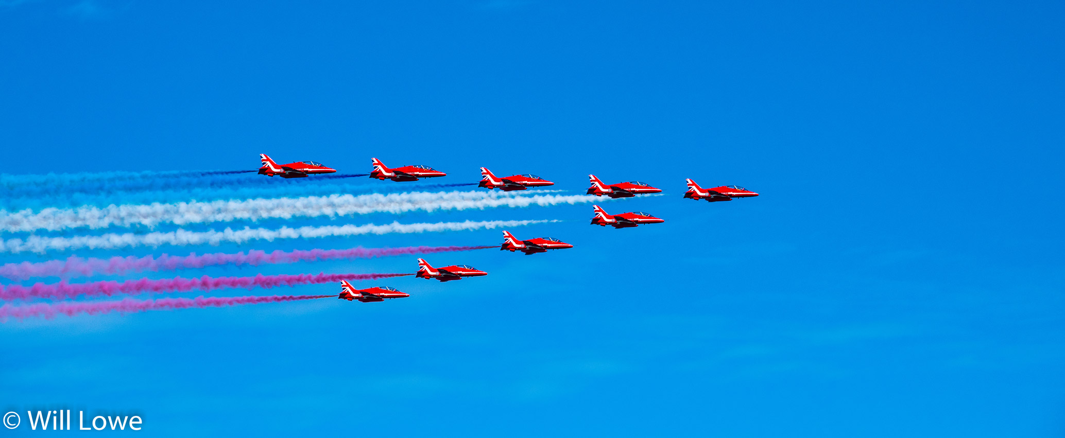Red Arrows Bournemouth 2015