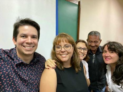 Defesa de mestrado de Estela Conceição de Albuquerque (29/11/2019) no Programa Interdisciplinar de Linguística Aplicada da UFRJ