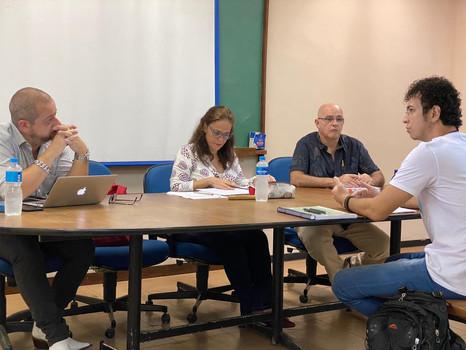 Defesa de mestrado de Vítor Ferreira Pinto (11/12/2019) no Programa Interdisciplinar de Linguística Aplicada da UFRJ