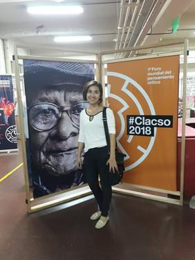 Apresentação de Fernanda Lazaro na CLACSO 2018