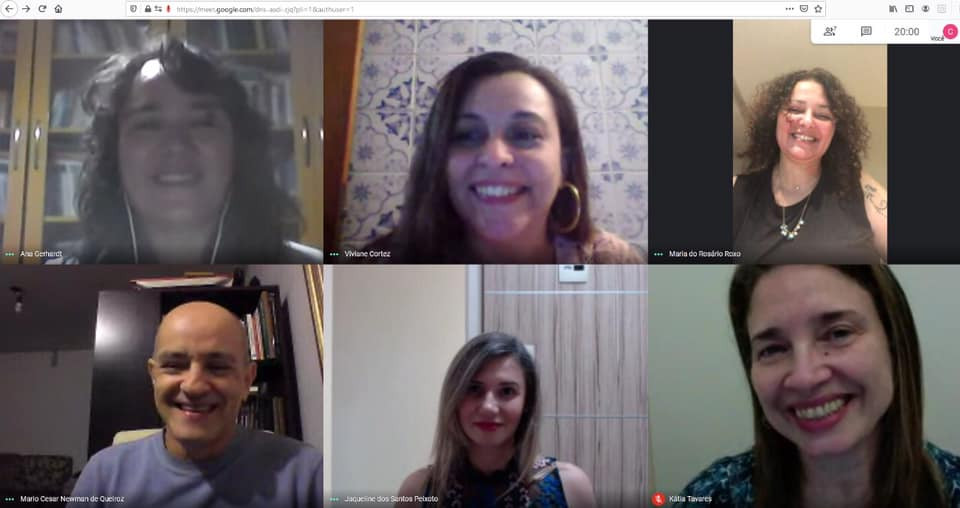 Defesa remota de doutorado de Viviane Ignacio Rosa Cortez (08/06/2020) no Programa Interdisciplinar de Linguística Aplicada da UFRJ