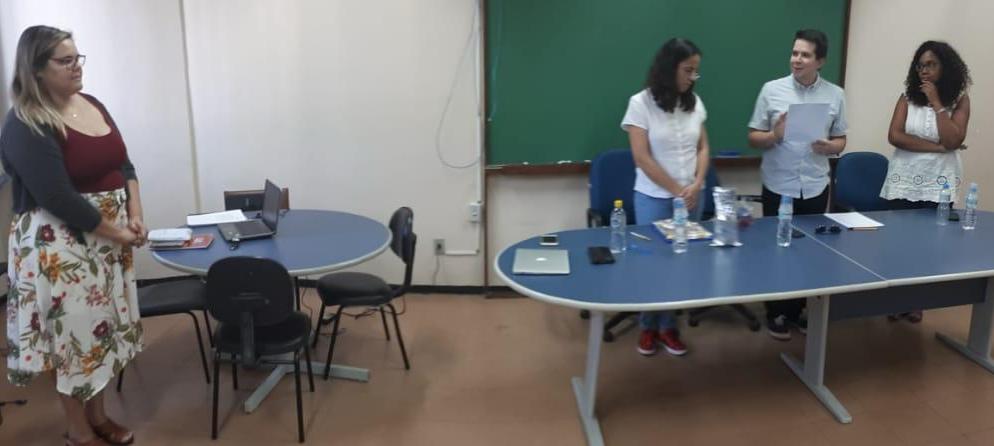 Defesa de mestrado de Mariana Roque (28/06/2019) no Programa Interdisciplinar de Linguística Aplicada da UFRJ