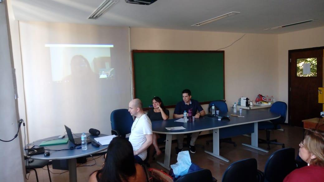 Defesa de mestrado de Silvio de Oliveira Gomes (05/04/2019) no Programa Interdisciplinar de Linguística Aplicada da UFRJ