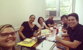 Reunião do grupo na UFRJ (2018)