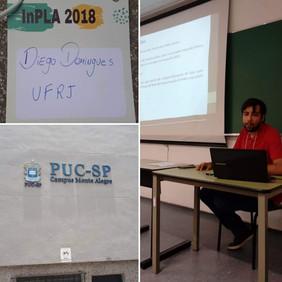 Apresentação de Diego Domingues no InPLA 2018