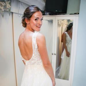 Bride makeup Stratford
