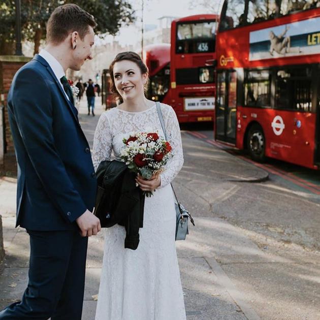 London wedding makeup