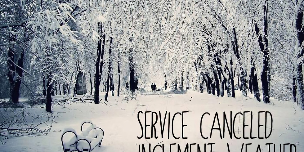 Services Cancelled 13 January 2019