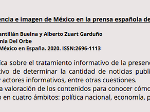 La imagen de México en la prensa española (2019)
