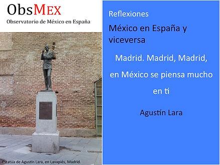 Agustin Lara. Madrid