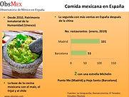 Comida mexicana en España
