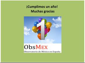 El Observatorio de México en España celebra su primer aniversario
