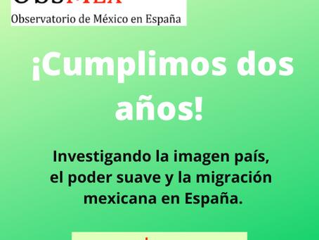 Observatorio de México en España: ¡Cumplimos dos años!