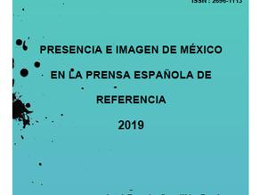 """Publicamos el Informe """"Presencia e imagen de México en la prensa española"""""""