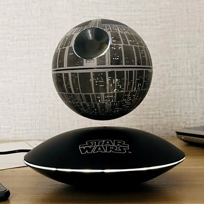 MYBY Death Star Maglev Bluetooth Wireless Speaker Mini Bass, Magnetic Levitation