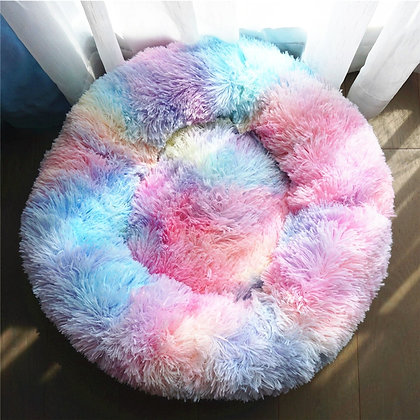 Dog Bed Super Soft Washable Long Plush Pet Kennel Deep Sleep Dog House Velvet