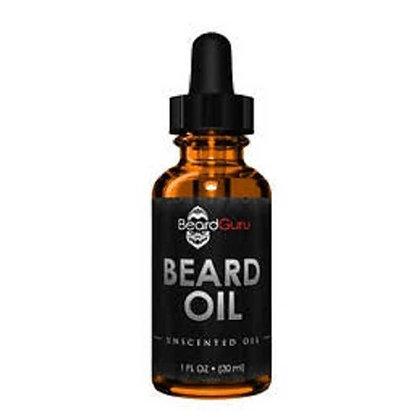 BeardGuru Premium Beard Oil:  Unscented