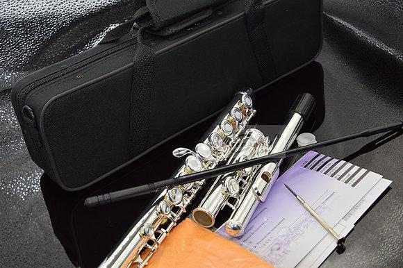 Top Japan Flute 16 Hole With E Key  YF-271 Silver Plated Flute C Key