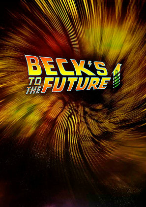 Beck's to the Future Poster