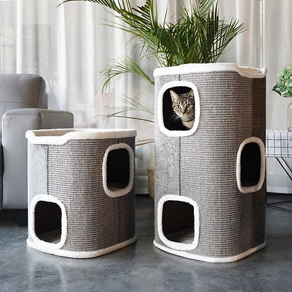 Pet Bed Luxury House With Window  Pet Products  Cats Home  Pet Chinchilla  Cat