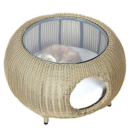 Cat House Cat Villa  Cat Rattan Common to Humans and Cats and Dogs Four Seasons