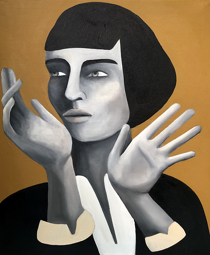 Rebecca Brodskis, Si seulement, 2020, Oi