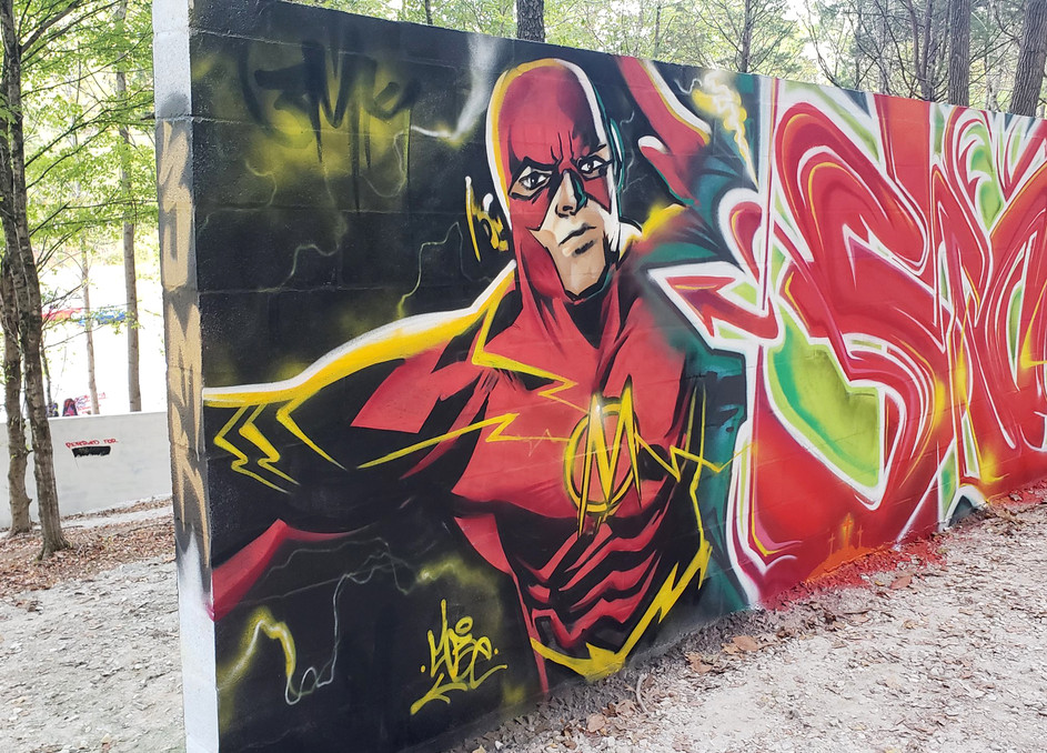 Flash Mural by @mobeoner
