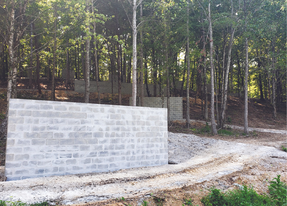 Blank Wall and Trail