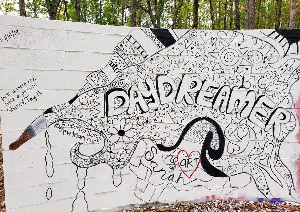 Daydreamer Mural by #HeartOfSarah