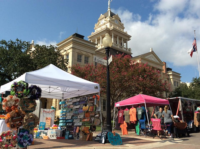 Downtown Belton Market Days