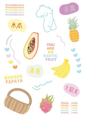 Exotic fruit sticker sheet-01.png