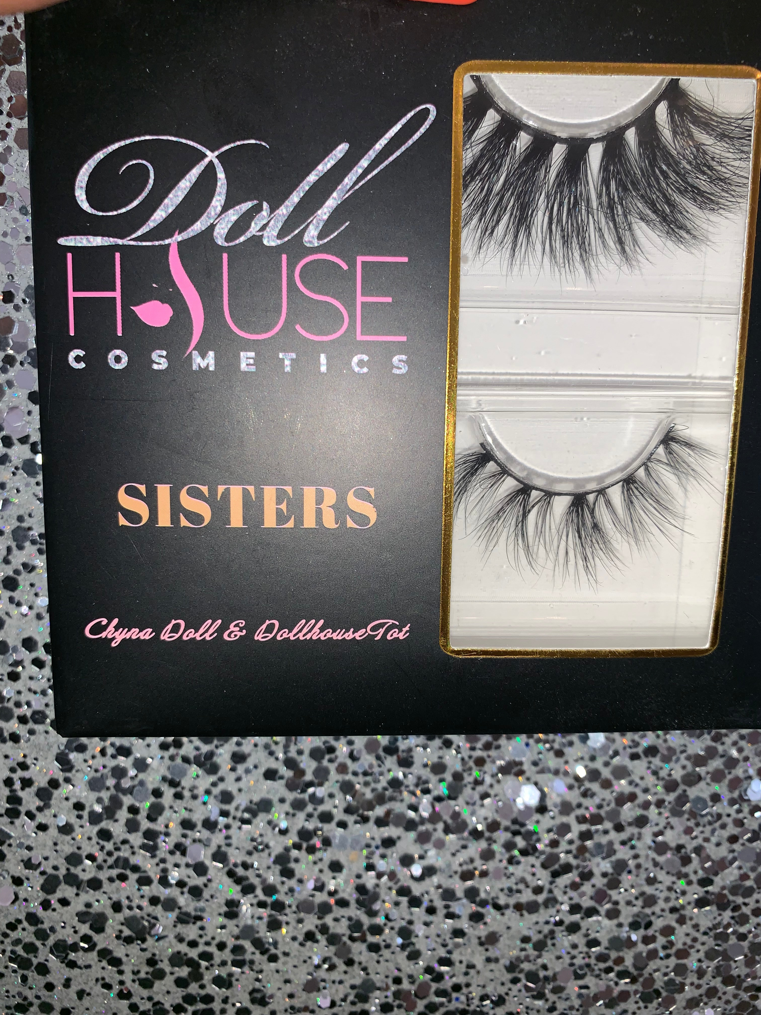 """b41580bd002 Our amazing """"Sister Duo"""" has launched their lash line. This lash combo  comes complete with not one but TWO sets of lashes, inspired by Dollhouse  Chyna ..."""