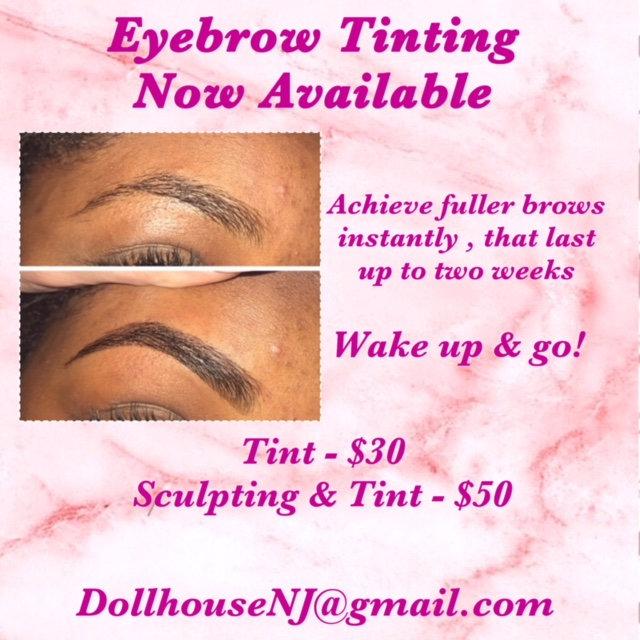Eyebrow Tint ONLY (BK)