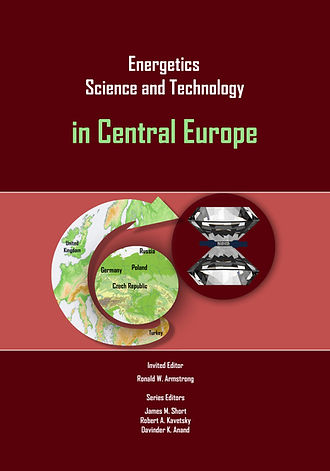 Energetics in central europe book cover.
