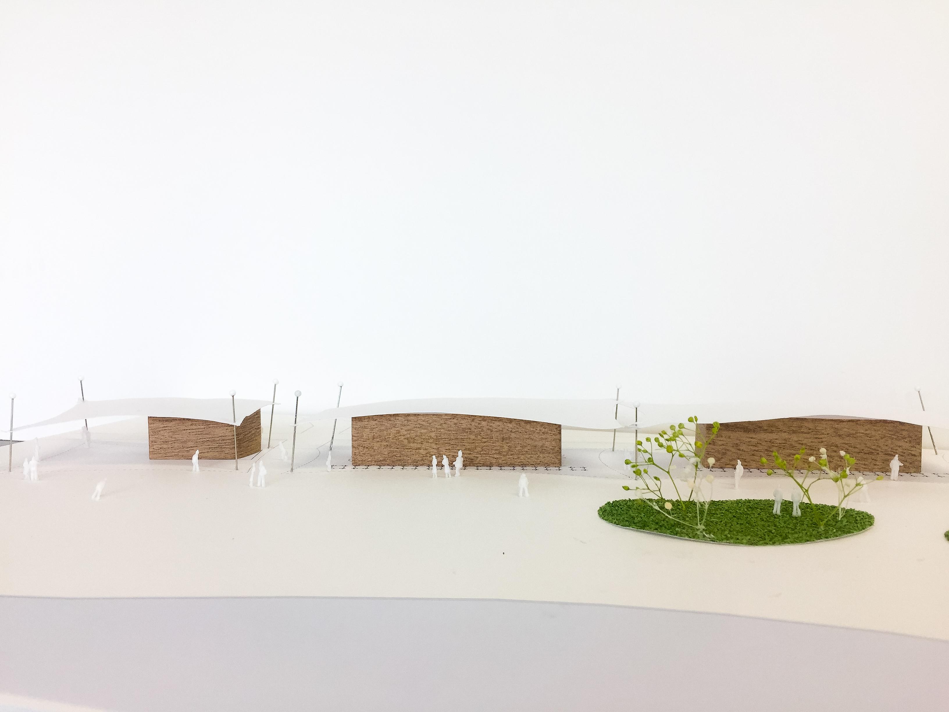 松原の海の家